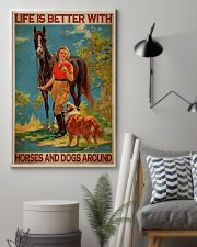 Cow Girl Life Is Better 24x36 Poster lifestyle-poster-1