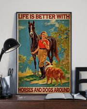 Cow Girl Life Is Better 24x36 Poster lifestyle-poster-2