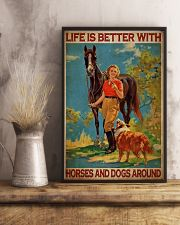Cow Girl Life Is Better 24x36 Poster lifestyle-poster-3