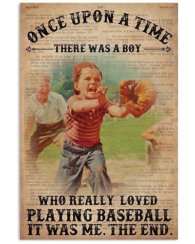 OUAT Boy Loved Playing Baseball