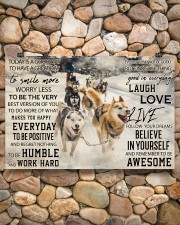Sled Dog Today Is A Good Day 36x24 Poster aos-poster-landscape-36x24-lifestyle-14
