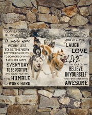 Sled Dog Today Is A Good Day 36x24 Poster aos-poster-landscape-36x24-lifestyle-15