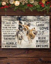 Sled Dog Today Is A Good Day 36x24 Poster aos-poster-landscape-36x24-lifestyle-24