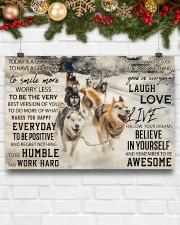 Sled Dog Today Is A Good Day 36x24 Poster aos-poster-landscape-36x24-lifestyle-25