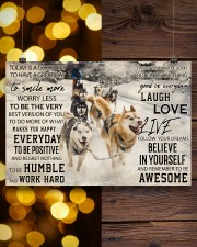 Sled Dog Today Is A Good Day 36x24 Poster aos-poster-landscape-36x24-lifestyle-26