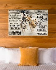 Sled Dog Today Is A Good Day 36x24 Poster poster-landscape-36x24-lifestyle-23