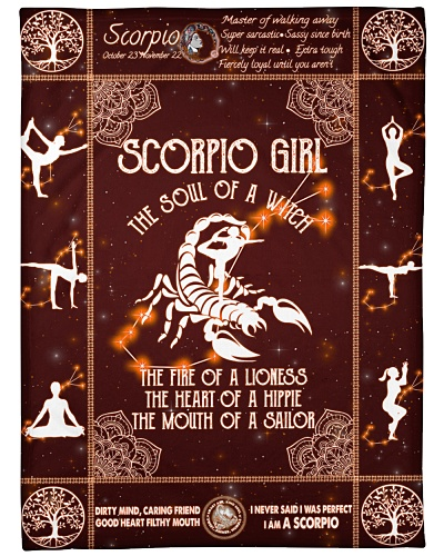Scorpio Girl Yoga