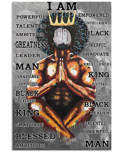 Black King Praying