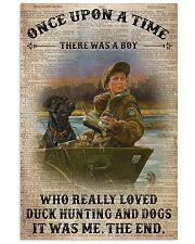 OUAT Boy Duck Hunting And Dogs Book Page 24x36 Poster front