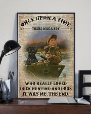 OUAT Boy Duck Hunting And Dogs Book Page 24x36 Poster lifestyle-poster-2