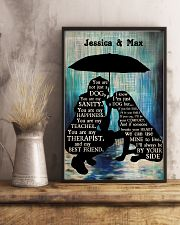 Lady And Dog In The Rain 24x36 Poster lifestyle-poster-3