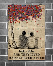 Gay Couple Happily Ever After 24x36 Poster aos-poster-portrait-24x36-lifestyle-18