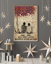 Gay Couple Happily Ever After 24x36 Poster lifestyle-holiday-poster-1