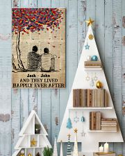 Gay Couple Happily Ever After 24x36 Poster lifestyle-holiday-poster-2