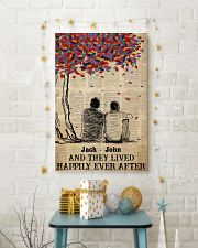 Gay Couple Happily Ever After 24x36 Poster lifestyle-holiday-poster-3