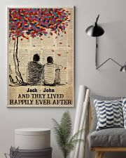 Gay Couple Happily Ever After 24x36 Poster lifestyle-poster-1