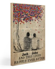 Gay Couple Happily Ever After 20x30 Gallery Wrapped Canvas Prints thumbnail