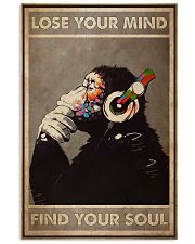 DJ Monkey Lose Your Mind 24x36 Poster front
