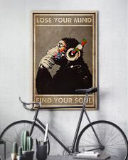 DJ Monkey Lose Your Mind 24x36 Poster lifestyle-poster-7