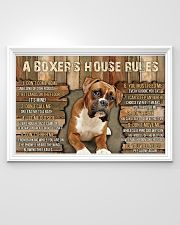 A Boxer's House Rules 36x24 Poster poster-landscape-36x24-lifestyle-02