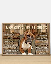 A Boxer's House Rules 36x24 Poster poster-landscape-36x24-lifestyle-03