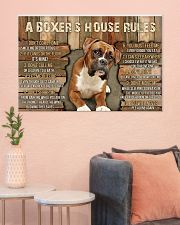 A Boxer's House Rules 36x24 Poster poster-landscape-36x24-lifestyle-18