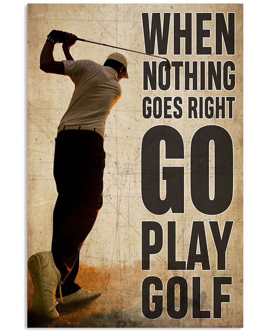 Go Play Golf  24x36 Poster