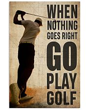 Go Play Golf  24x36 Poster front