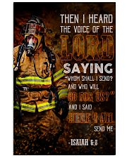 Firefighter Lord Send Me 2 24x36 Poster front