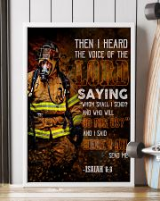 Firefighter Lord Send Me 2 24x36 Poster lifestyle-poster-4
