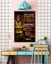 Firefighter Lord Send Me 2 24x36 Poster lifestyle-poster-6