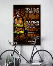 Firefighter Lord Send Me 2 24x36 Poster lifestyle-poster-7