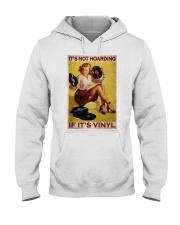 Vinyl Hoarding  Hooded Sweatshirt tile