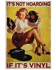 Vinyl Hoarding  24x36 Poster front