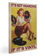 Vinyl Hoarding  Gallery Wrapped Canvas Prints tile