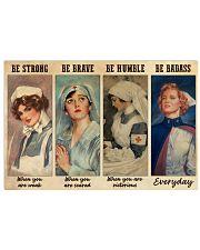 Nurses Be Strong BF Horizontal Poster tile