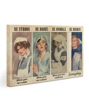 Nurses Be Strong BF Gallery Wrapped Canvas Prints tile