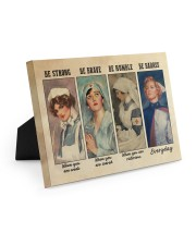 Nurses Be Strong BF Easel-Back Gallery Wrapped Canvas tile