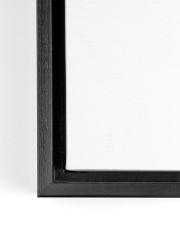 Nurses Be Strong BF 14x11 Black Floating Framed Canvas Prints aos-floating-framed-canvas-pgw-closeup-02