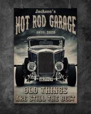 Hot Rod Garage BW  24x36 Poster aos-poster-portrait-24x36-lifestyle-12