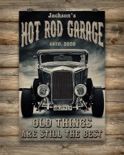 Hot Rod Garage BW  24x36 Poster aos-poster-portrait-24x36-lifestyle-14