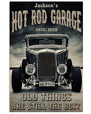 Hot Rod Garage BW  24x36 Poster front