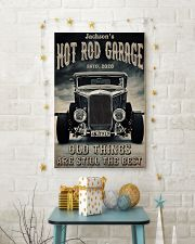 Hot Rod Garage BW  24x36 Poster lifestyle-holiday-poster-3