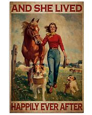Girl With Horse And Dogs Happily Ever After 16x24 Poster front