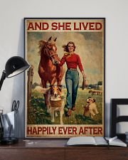 Girl With Horse And Dogs Happily Ever After 16x24 Poster lifestyle-poster-2