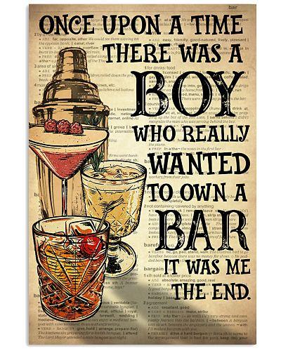 Boy Open A Bar
