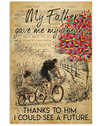 Girl Father's Day Cycling Dictionary
