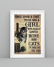 Cat Wine Glass  24x36 Poster lifestyle-poster-5