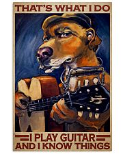 Dog I Play Guitar 24x36 Poster front