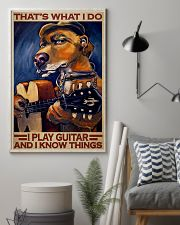 Dog I Play Guitar 24x36 Poster lifestyle-poster-1